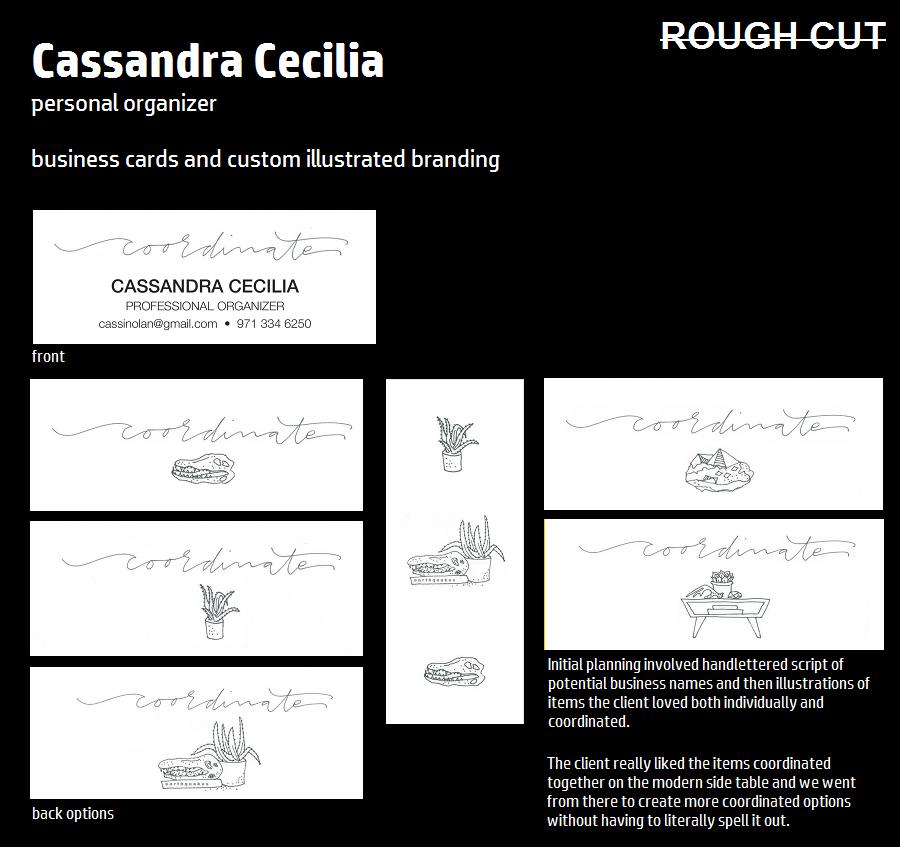 Portland Personal Organizer, Branding & Business Cards - Katey Dutton